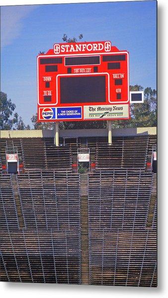 Stanford University Stadium In Palo Metal Print