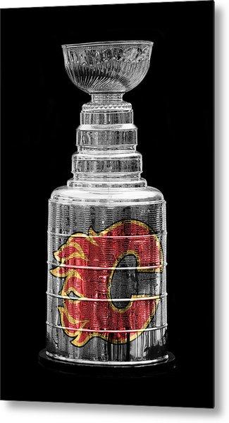 Stanley Cup Calgary Metal Print