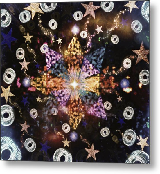 Star Burst Metal Print