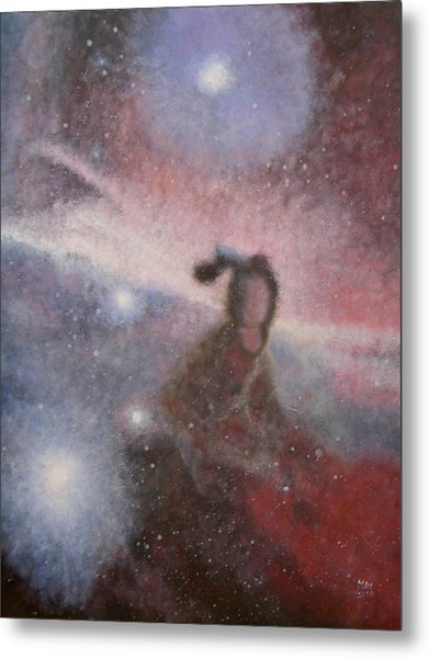 Star Lady Metal Print