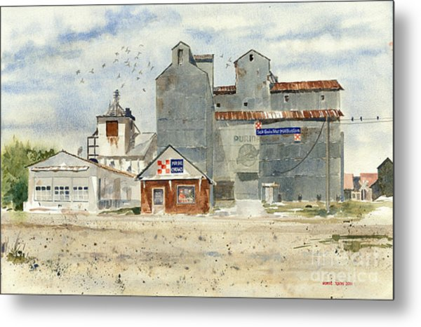 Star Mill Metal Print