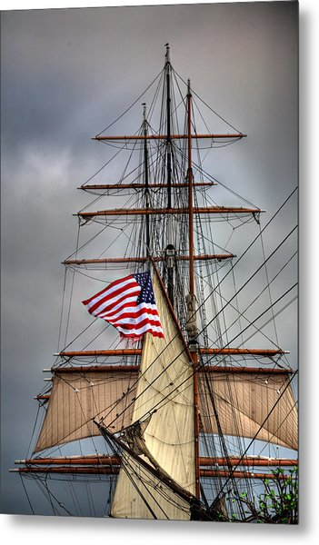 Star Of India Stars And Stripes Metal Print