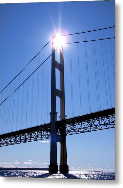 Star Tower Metal Print