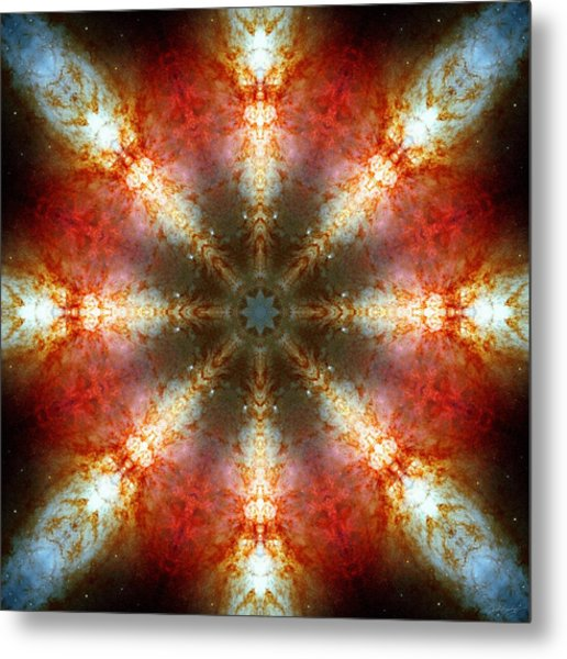 Starburst Galaxy M82 II Metal Print