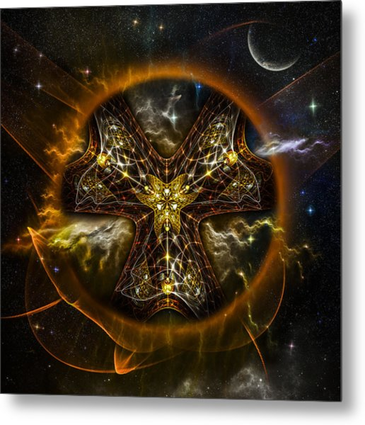 Starcatcher Metal Print