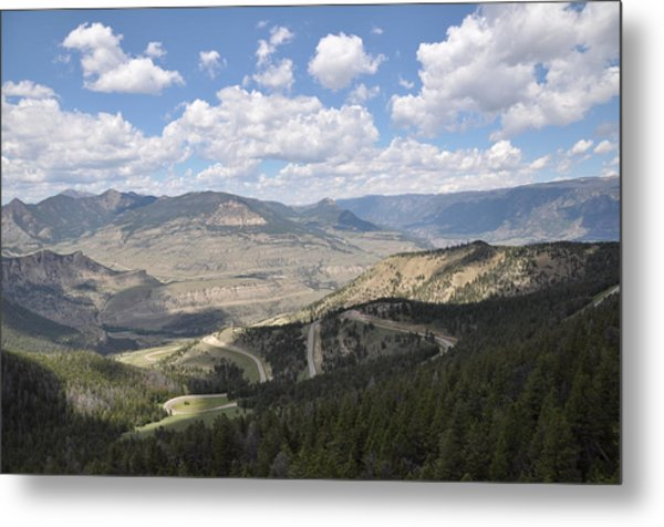 Starlight Basin Metal Print