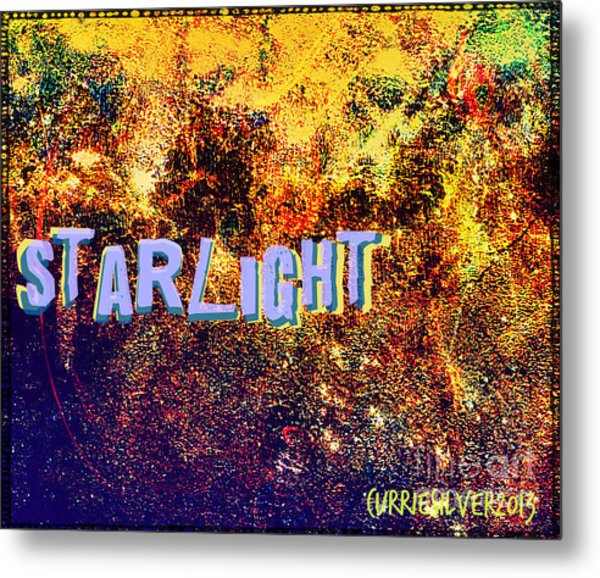 Starlight Metal Print by Currie Silver