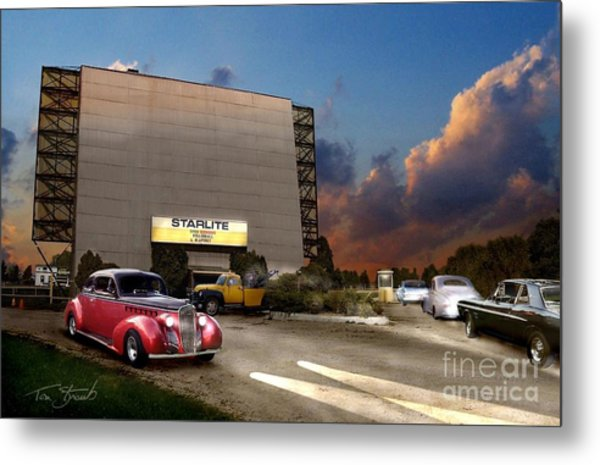 Starlite Metal Print by Tom Straub