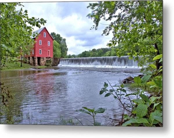 Starrs Mill Metal Print