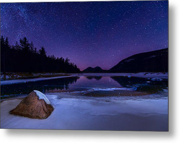 Stars On Ice Metal Print