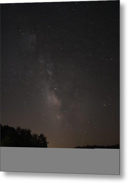 Stars On Lake Logan Metal Print