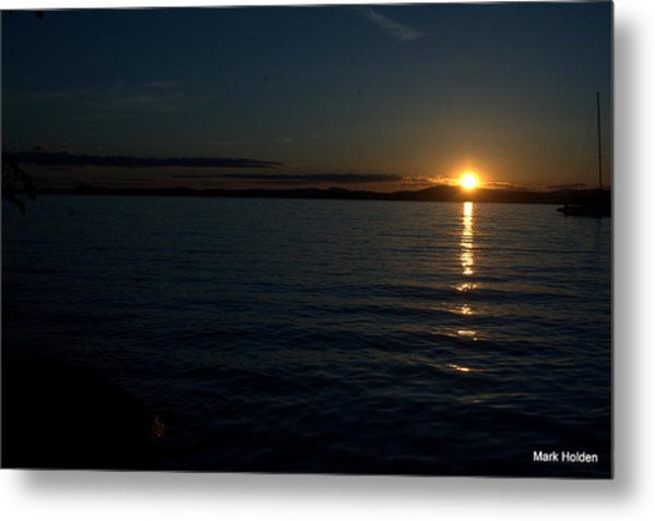 Start To A Brand New Day Metal Print by Mark Holden