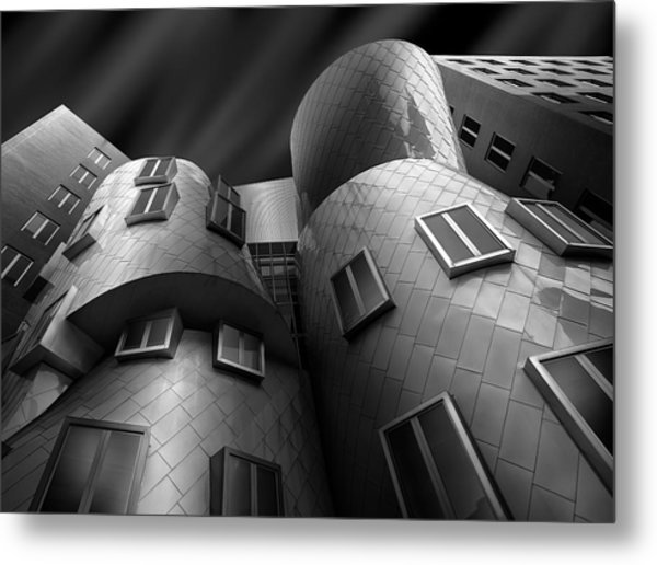 Stata Center Metal Print by Louis-philippe Provost