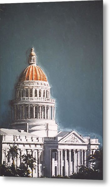 State Capitol Metal Print by Paul Guyer