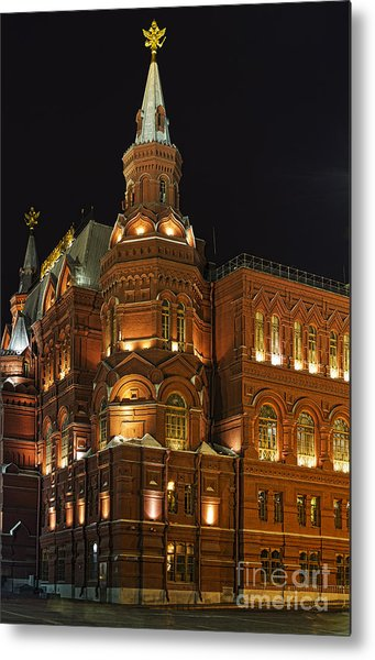 State Historical Museum Moscow Metal Print by Elena Nosyreva
