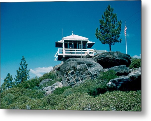 State Line Lookout 1956 3 Metal Print by Cumberland Warden
