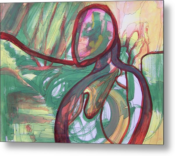 State Of Mind Metal Print by MtnWoman Silver