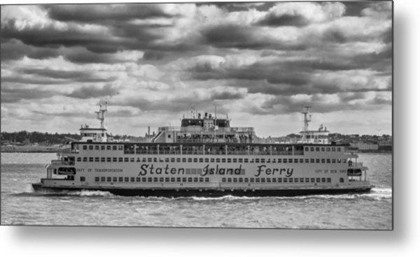 Staten Island Ferry 10484 Metal Print