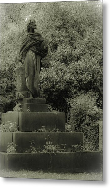 Statue Metal Print by Jennifer Burley