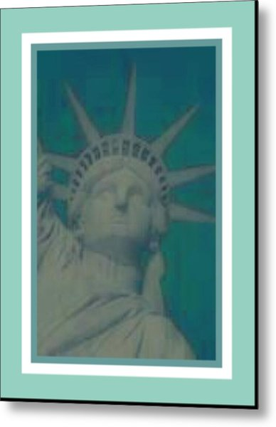 Statue Of Liberty 2 Metal Print by Tracie Howard