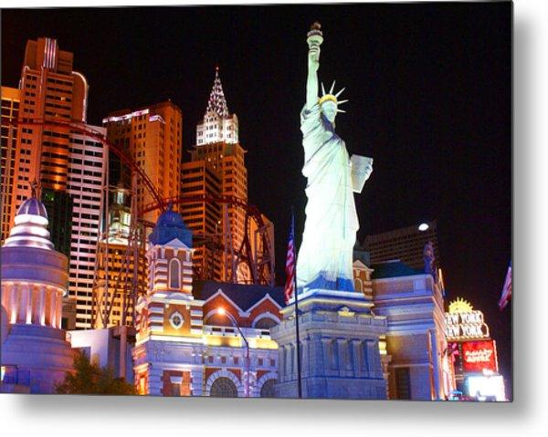 Statue Of Liberty Replica Metal Print