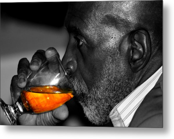 Stay Thirsty My Friend Metal Print