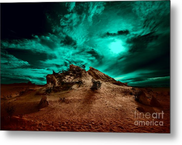 Metal Print featuring the photograph Stay With Me by Julian Cook