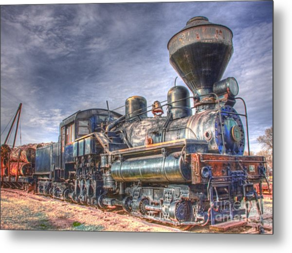 Metal Print featuring the photograph Steam Engine 7 by Katie LaSalle-Lowery