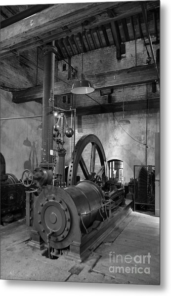 Steam Engine At Locke's Distillery Metal Print