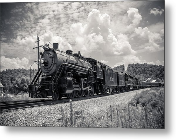 Steam Engine Metal Print by Darrin Doss