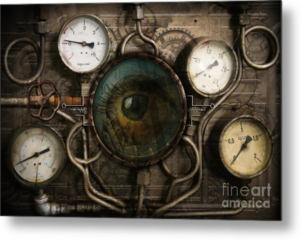 Steam Faith Metal Print