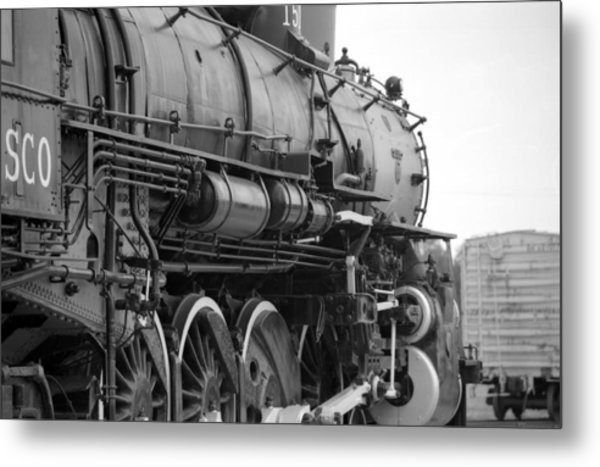 Steam Locomotive 1519 - Bw 02 Metal Print