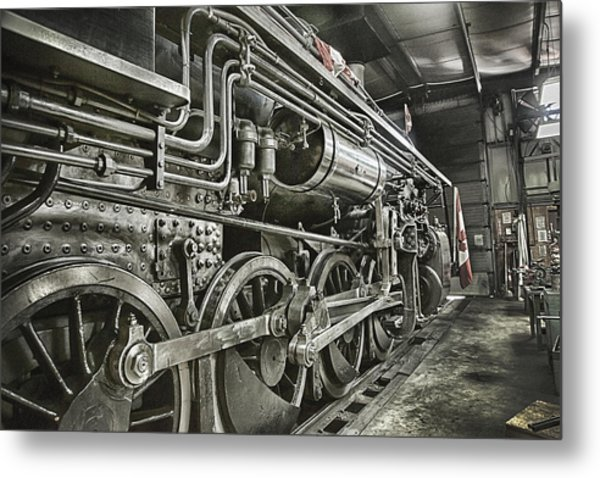 Steam Locomotive 2141 Metal Print