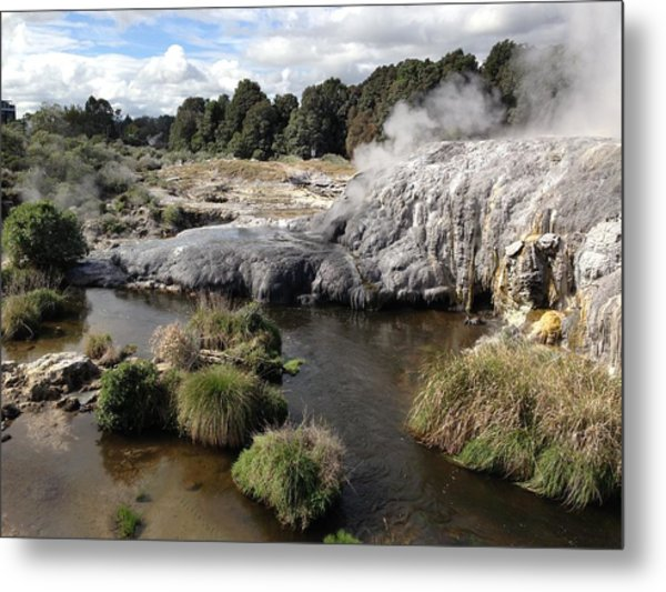 Steam Metal Print by Ron Torborg
