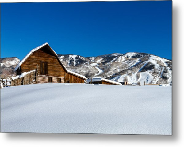 Steamboat Springs Barn Metal Print