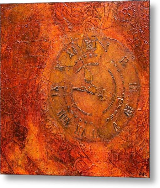 Steampunk Time Metal Print