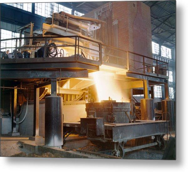 Steel Foundry, C1941 Metal Print by Granger