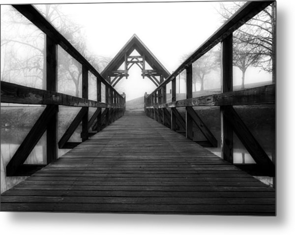 Steele Creek Crossing Metal Print