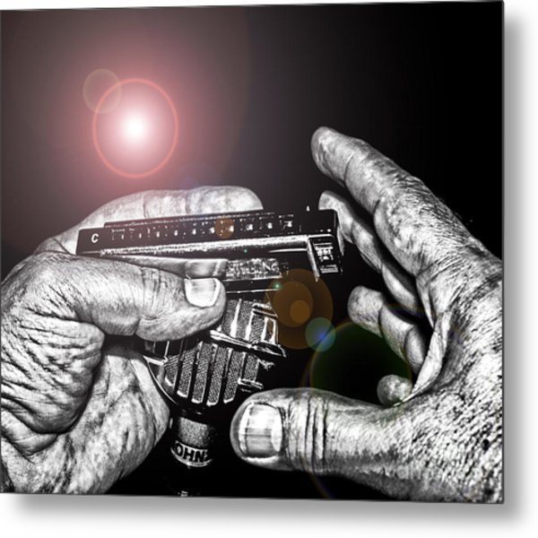 Steelworker's Blues Metal Print