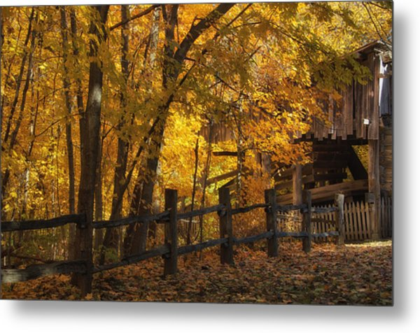 Metal Print featuring the photograph Step Back In Time by Darlene Bushue