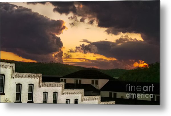 Beautiful Clouds Metal Print