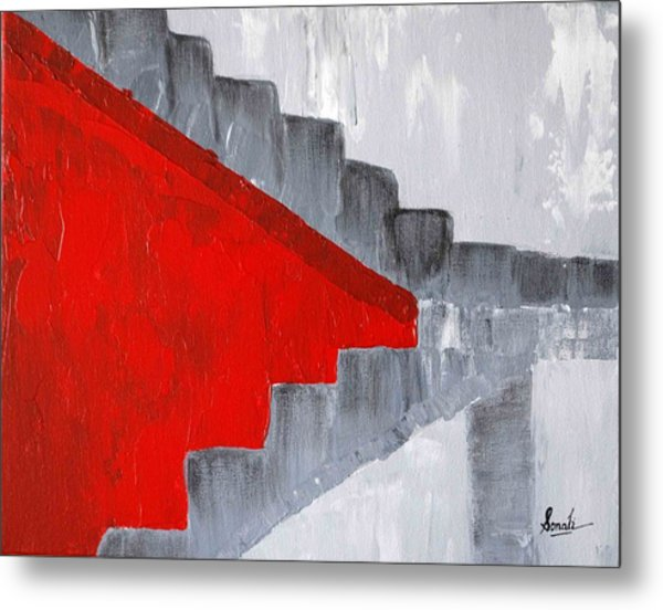 Step Up 2 Metal Print
