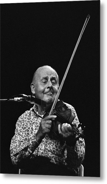 Stephane Grappelli   Metal Print