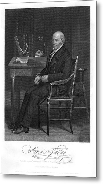 Stephen Girard  American Statesman Metal Print by Mary Evans Picture Library