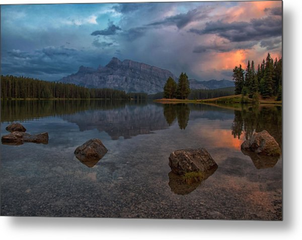 Metal Print featuring the photograph Stepping Stones by Darlene Bushue