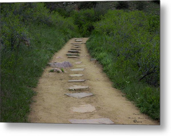 Steps Through Nature Metal Print by Missy Boone