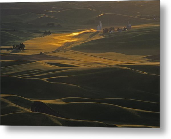 Steptoe Butte Sunset Metal Print