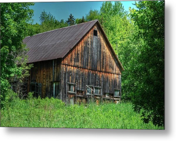 Sterling Valley Barn Metal Print