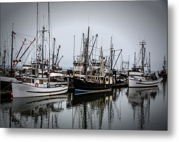 Steveston Harbour Metal Print