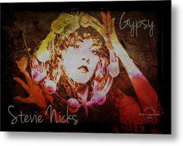Stevie Nicks - Gypsy Metal Print